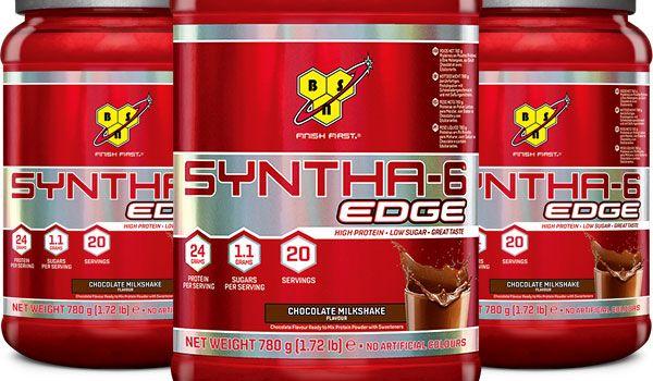 Proteine in polvere BSN Syntha 6 Edge elevata concentrazione di caseine micellari, una proteina del latte che viene digerita gradualmente