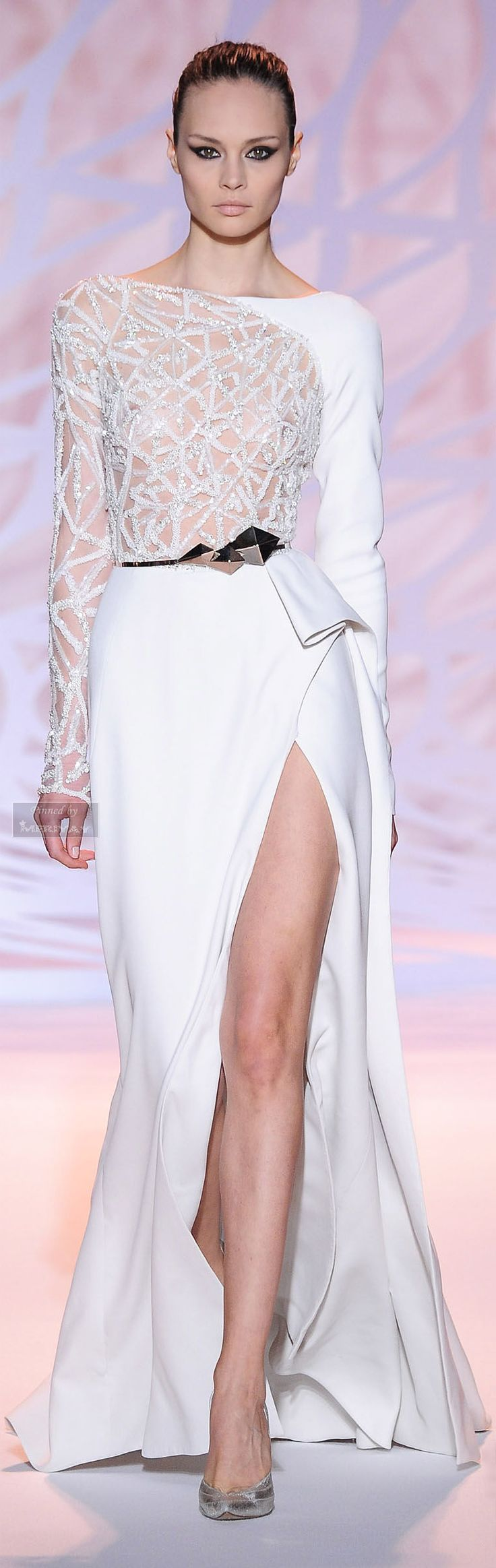This would be a great wedding dress.  (Zuhair Murad Fall-winter 2014-2015)