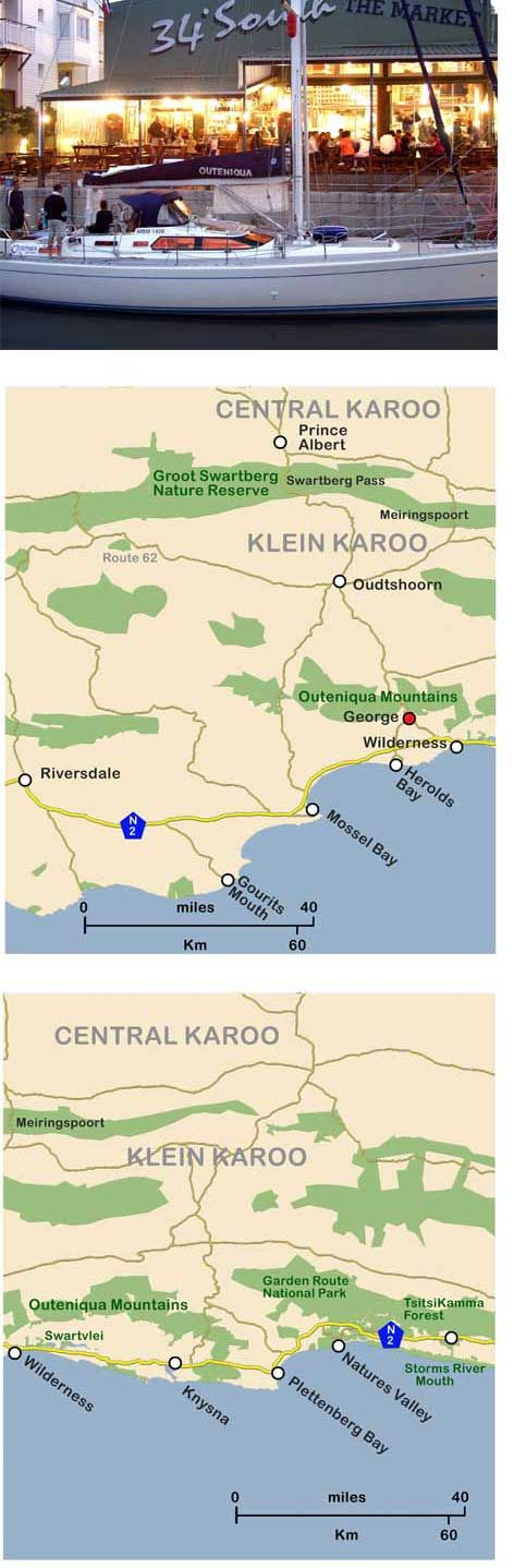A map of the coastline of the