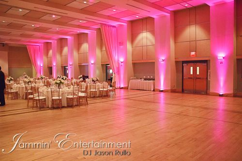 Uplighting at Circuit Center, Southside, Pittsburgh - Pittsburgh DJ For all occasions - Jammin' Jason DJ Entertainment- DJ Jason Rullo