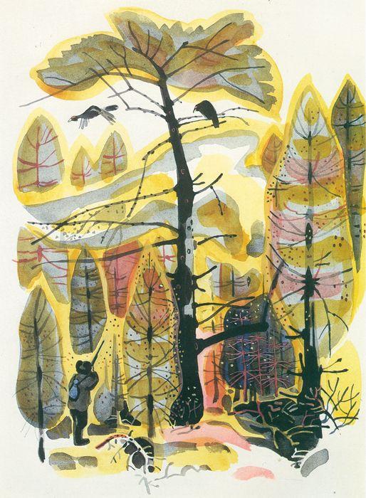 Май Петрович Митурич (1925-2008гг). Иллюстрации