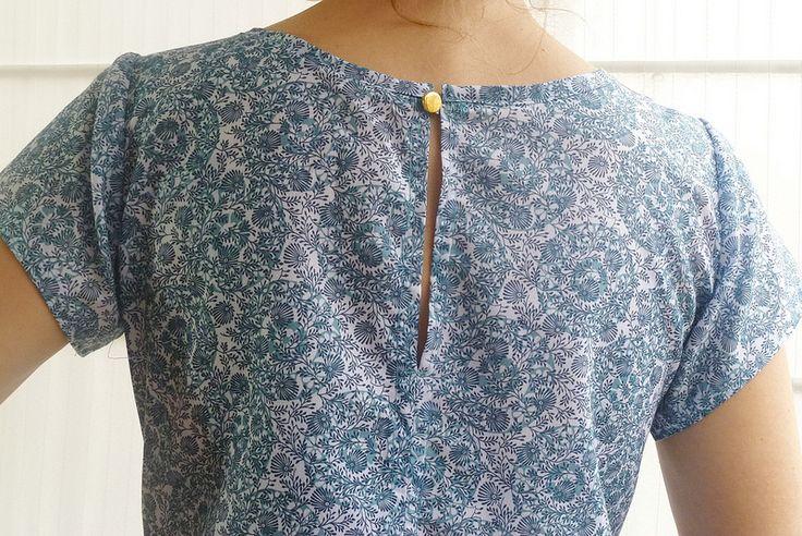 Sleeved Embellished Sorbetto | by El color de la suerte