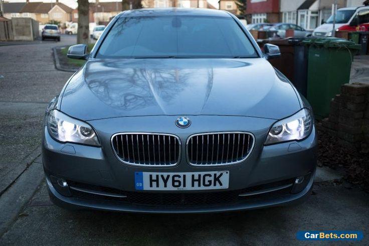 2012 61 BMW 5 SERIES 2.0 525D AUTO GREY DIESEL Automatic Quick Sale #bmw #5series #forsale #unitedkingdom