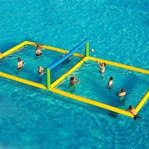 Inflatable Water Volleyball Court For Sale, Free Shipping