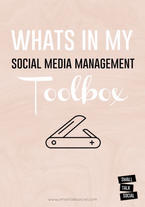 The Best Tools for Managing Social Media for Business | Small Talk Social www.smalltalksoci...