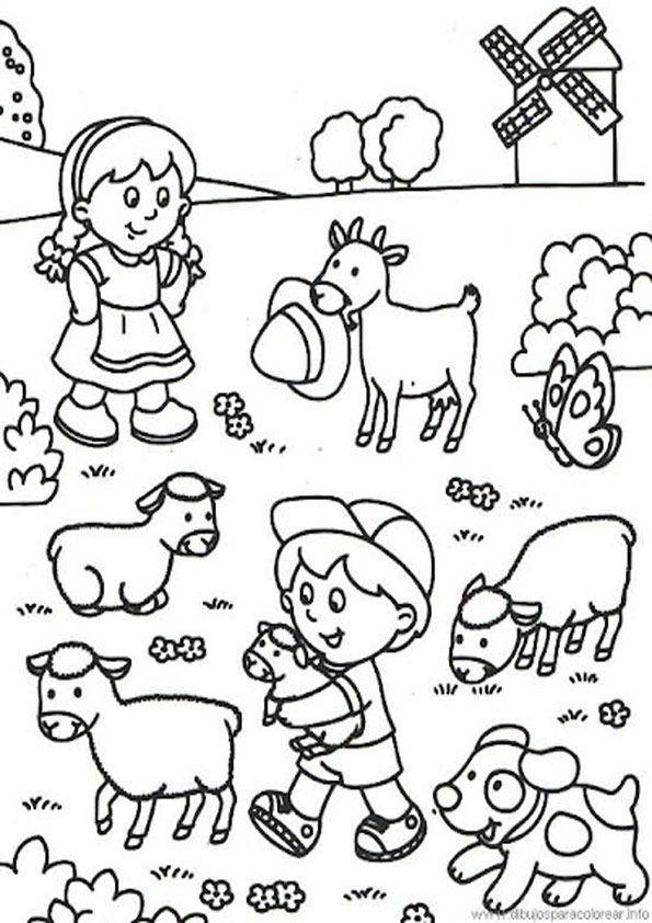 Bauernhof Kostenlose Ausmalbilder Zeichnung Ausmalbilder Kostenlose Ausmalbilder Kinderbilder Zum Ausmalen