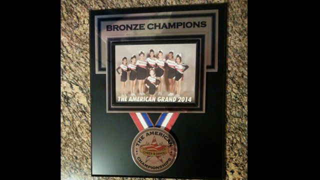 http://www.MagnitudeCheer.com (818) 280-8044  Magnitude Cheer's Senior 2 competed in the American Grand competition at the Mirage Events Center in December and placed third, earning them a spot on the awards stage and the bronze plaque and medals.  Schedule an evaluation for your child for the '15-'16 All-Star Cheer season this Spring.  Call us for more details and information.  Tumbling classes, cheerleading classes, All-Star cheer teams, Toddler and Preschool tumbling classes, ...