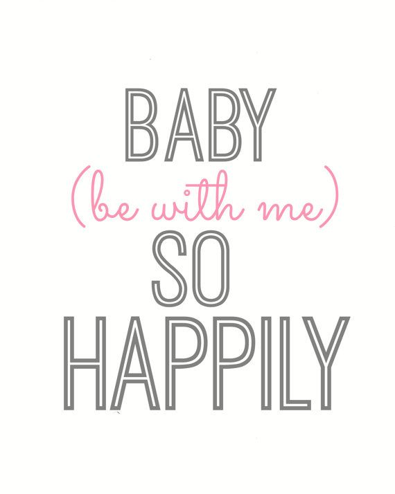 One Direction Happily  8x10 Lyric art print by gbloomstudio, $15.00