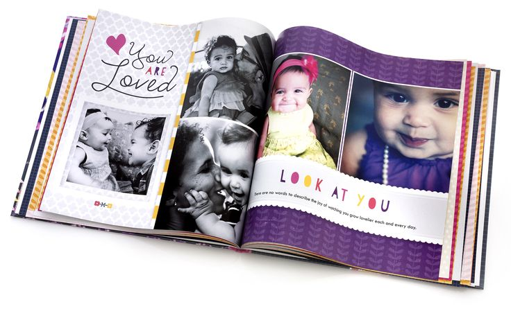 Shutterfly Photo Book - fun alternative to traditional scrapbook