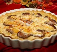 Tarte à l'andouille de Vire aux pommes et au camembert - Proposée par 750 grammes