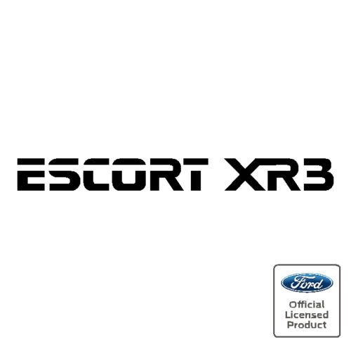 Ford escort xr3 emblem