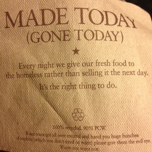Awesome!! Pret a Manger