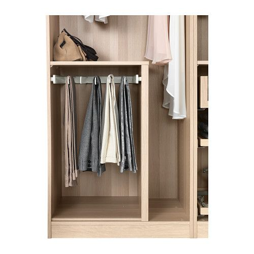 "KOMPLEMENT Pull-out pants hanger - 19 5/8x22 7/8 "" - IKEA - for Matt's new wardrobe"