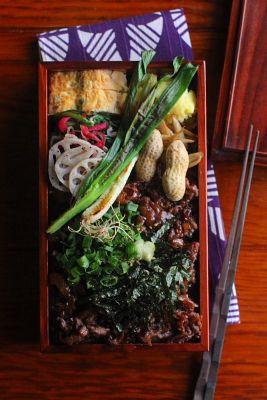 牛まぶし丼弁当 | 日本の片隅で作る、とある日のお弁当