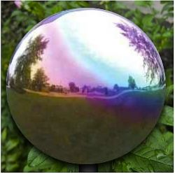 Gazing Balls For The Garden - Gazing globes are also called yard globes, mirror balls or lawn globes and are used for garden decor or accents. Here you will find a variety...