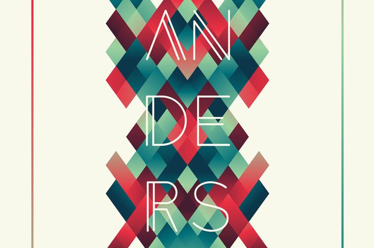 Anders - Free Modern Font This cool & creative custom font is from Tom Anders Watkins.…
