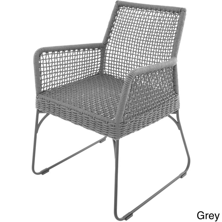 Matrix Industrial Chic Indoor/ Outdoor Double-braid Polyester Regatta Rope  Square Weave Arm Lounge Chair (Black), Patio Furniture (Iron) - 25+ Best Ideas About Industrial Outdoor Lounge Chairs On Pinterest