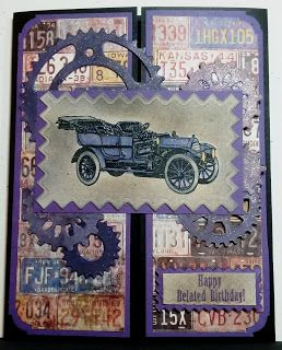 created by Carlene Prichard: Chatterbox Creations: Happy Birthday to a Lover of Cars & Racing - 11/17/16.  (Pin#1: Chatterbox Creations.  Pin+: Transportation: Cars...).