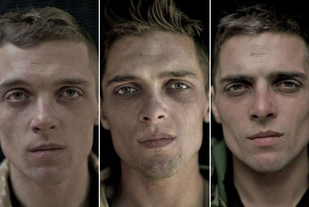 In a series of before, during and after photographs, Lalage Snow captures the physical toll a deployment takes on a person.