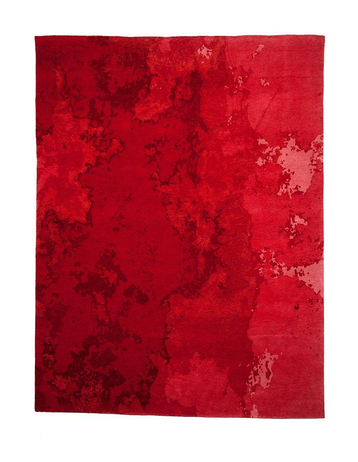 Inferno Nepalees designer tapijt op maat by Ashtari 1156 recto