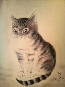 Fujita Tsuguharu 藤田嗣治 (1886-1968).