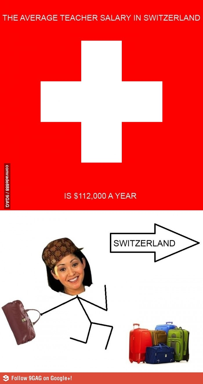 Sooo...I should just continue with my El. Ed. degree and move to Switzerland.