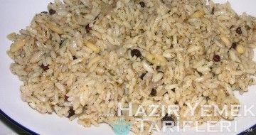 şehzade pilavı resimli tarifi