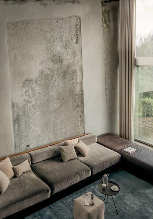 ulfgbohlin: ULF G B☮HLIN • InteriorDesign: graphic pattern - wallpaper. Source