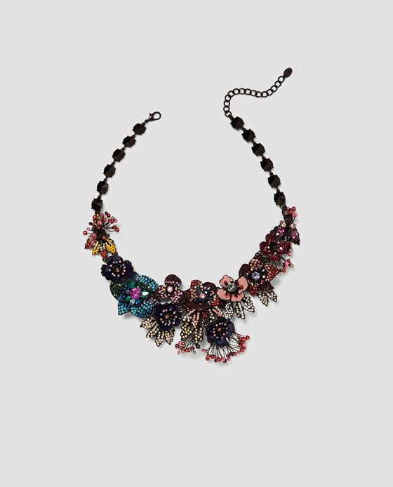 ZARA - WOMAN - SPECIAL EDITION FLORAL NECKLACE