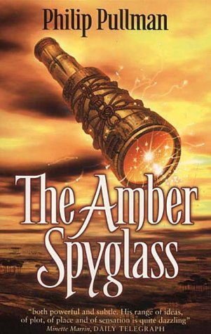 The Amber Spyglass! I was on holidays with D when I was reading this. Almost fainted n the heat!