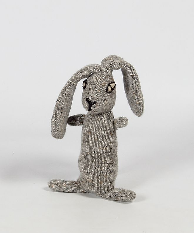 Shop | Design and Craft | Gifts | Makers&Brothers | Makers & Brothers | Liam the Hare | Knitting | Teddy | Kniited | Baby
