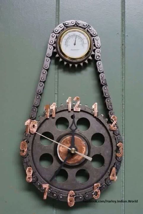 Sprocket clock