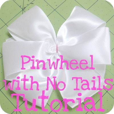 the Jocole blog: Bow - Pinwheel with No Tails