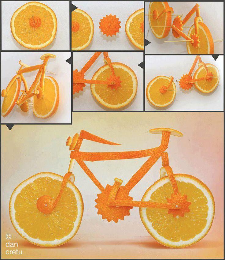 Orange bike | Save on free classifieds www.worldstuffer.com go to restaurant!