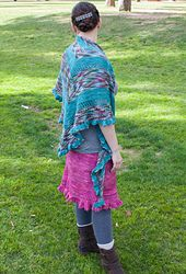 Ravelry: A Midsummer's Night Shawl pattern by Jessica Anderson