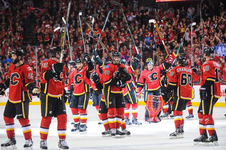 Flames vs. Kings - 09/04/2015 - Calgary Flames - Photos