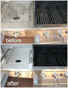 Gross to Gorgeous - Best Ways to Clean Stainless Steel Grills