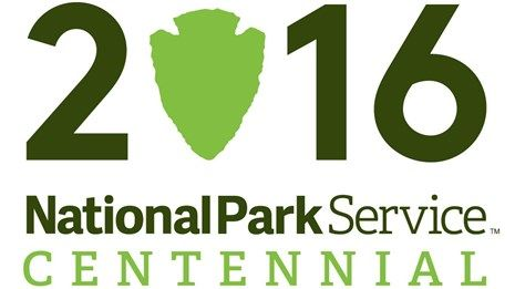 a logo of the National Park Service's centennial