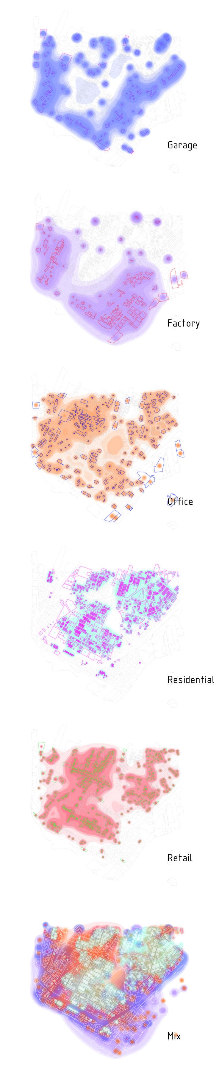 Land Use Analysis of South Bronx / 2016 / Huai Kuan Chung