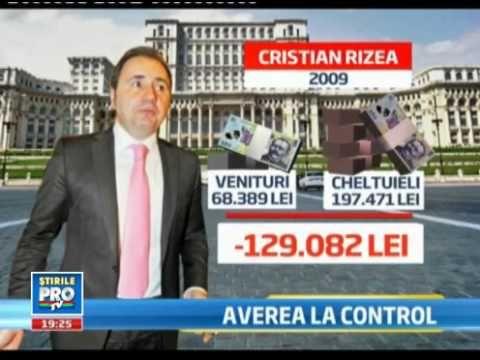 Aritmetica deputatului Cristian Rizea a cheltuit de 15 ori m