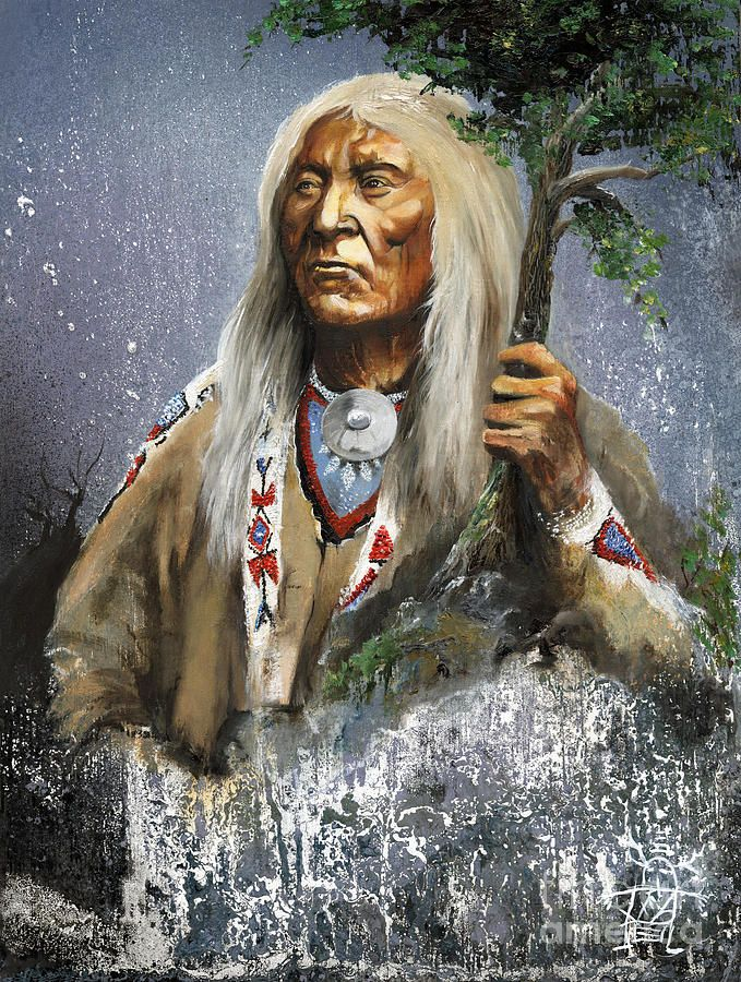 Native Americans Indians Art by Walking Between The Worlds ~ JW Baker