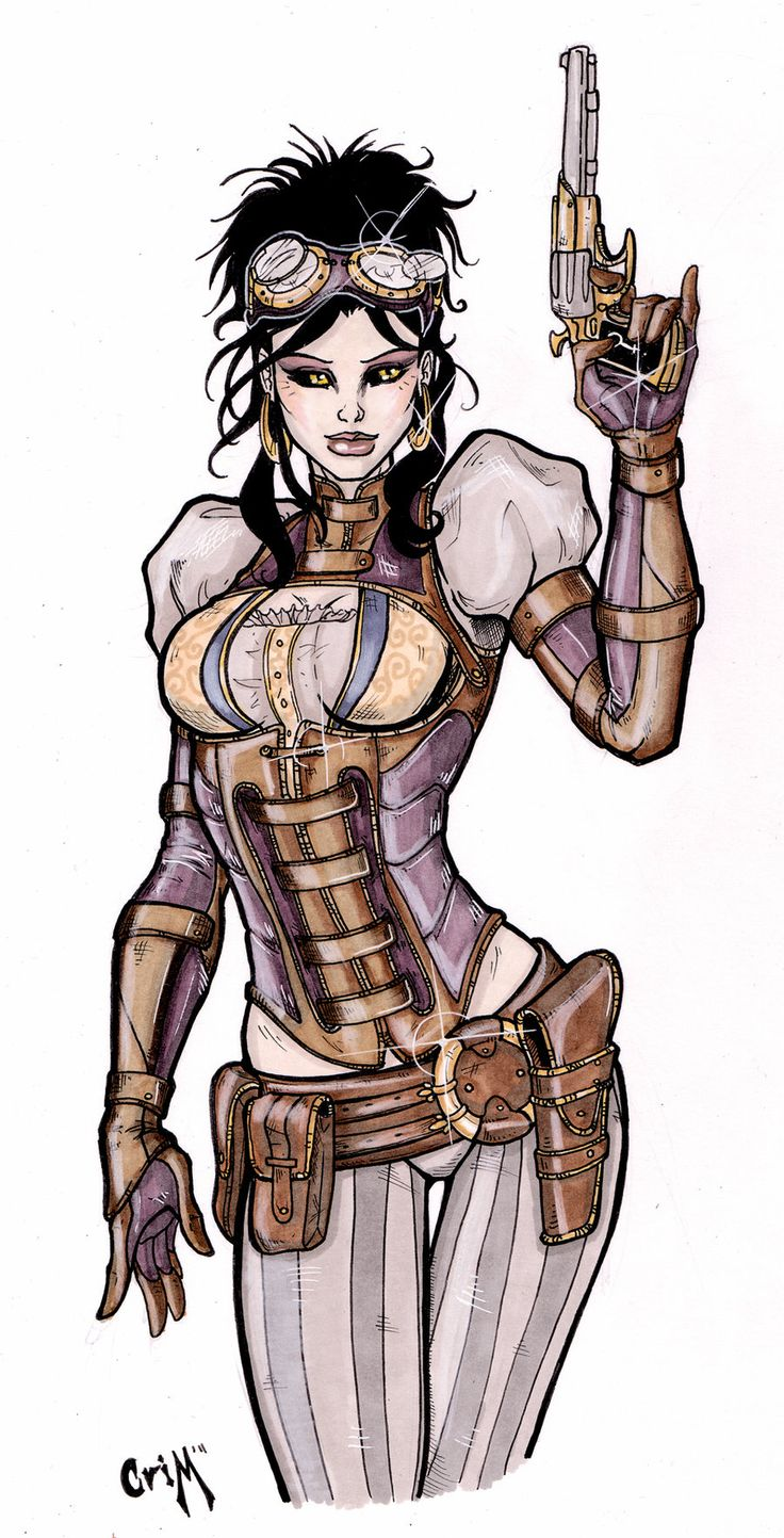 Lady Mechanika by Matthew Skipworth, *CrimsonArtz on deviantART