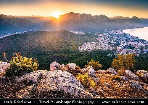 Turkey - Antalya Province - Kemer from above at Sunset | Flickr