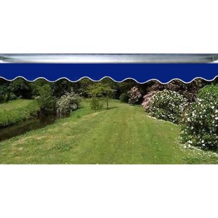 Waterproof Aleko Dark Blue Fabric For Retractable Patio Awning, ...