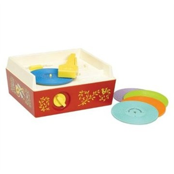 Fisher Price Change-A-Record Music Box