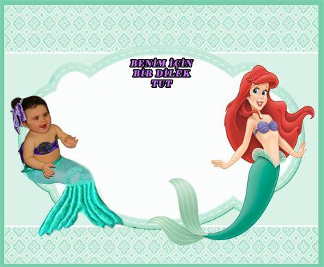 Deniz Kızı Ariel Dilek Kartı, Küçük Deniz Kızı Ariel Doğum Günü