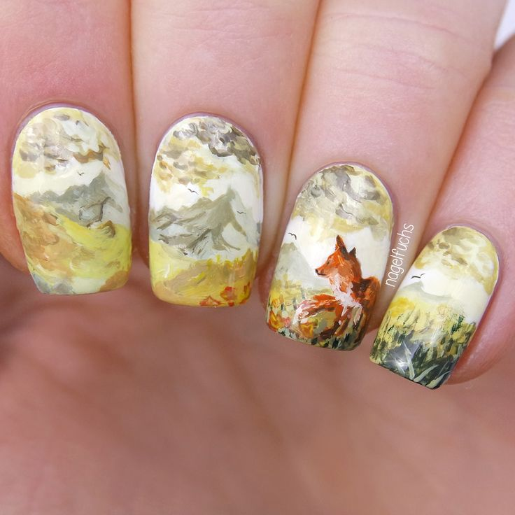 Nailpolis Museum of Nail Art | Leave it behind by nagelfuchs