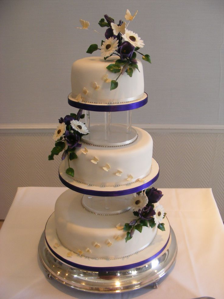 94 traditional wedding cake purple gallery of modern purple wedding cake with toppers non. Black Bedroom Furniture Sets. Home Design Ideas