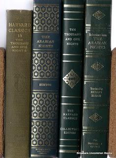 Arabian Nights, various editions