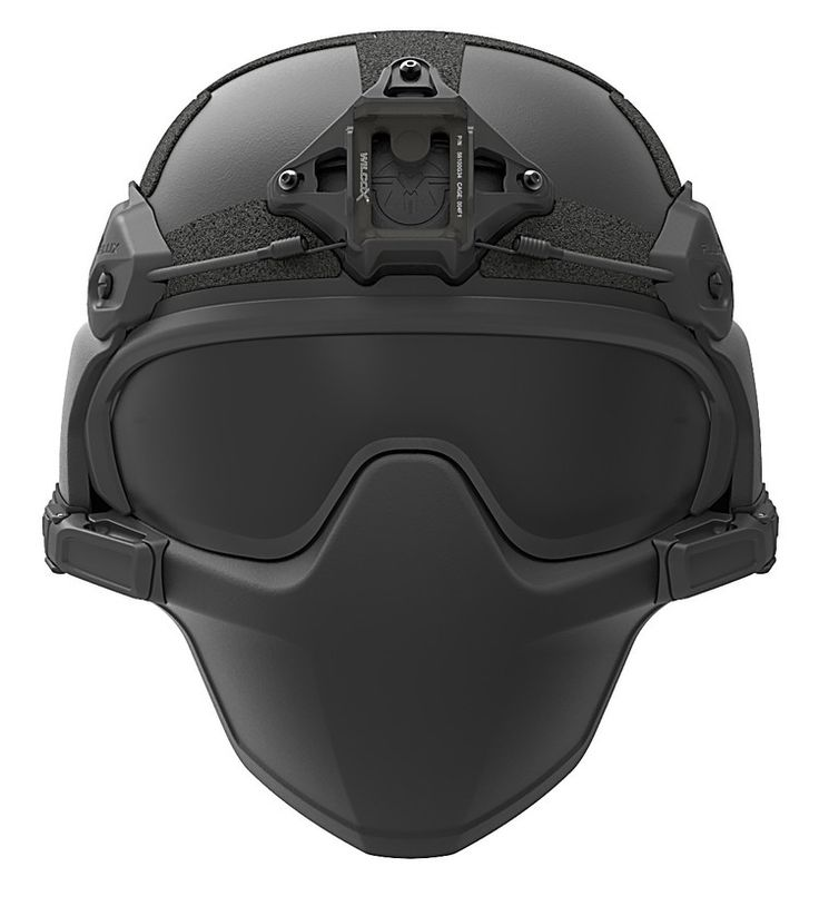 FLUX Ballistic helmet mandible protection | Zombie ...